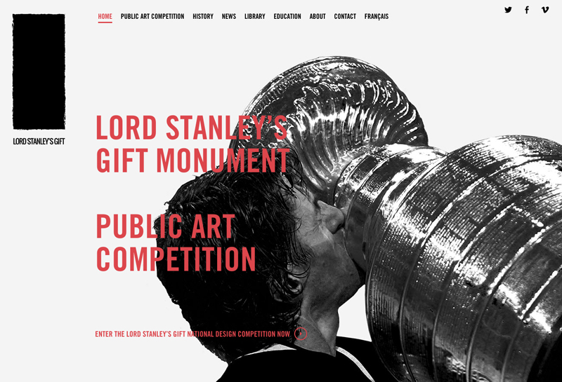 Lord Stanley's Gift - website
