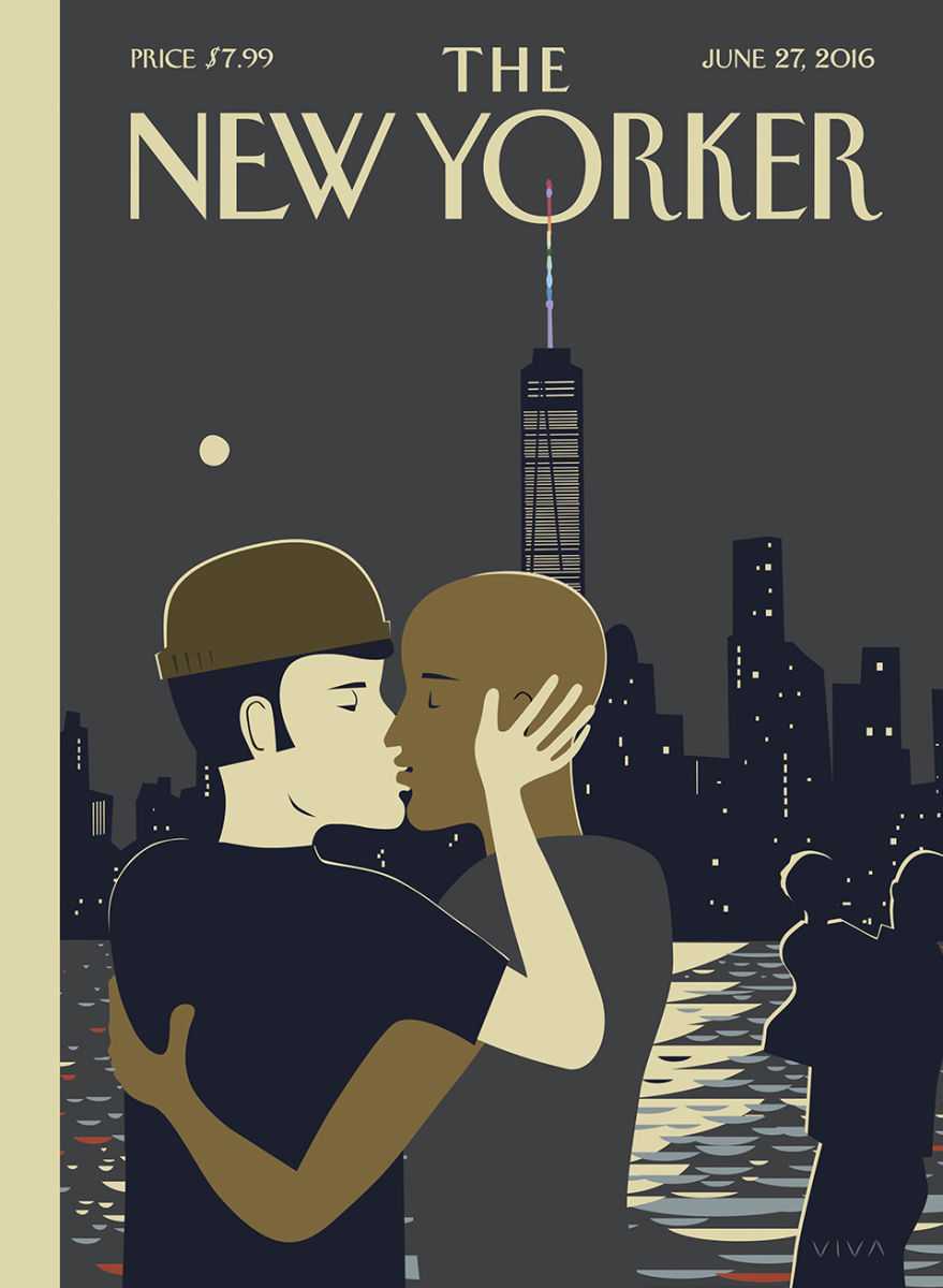 After Orlando: Frank Viva spreads love on New Yorker cover