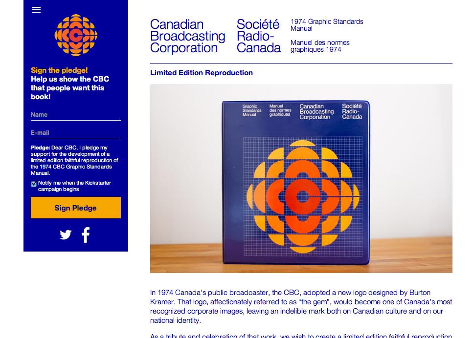 Screenshot: cbc.graphicmanual.ca