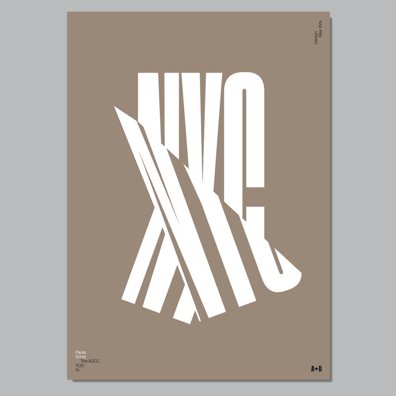 Design New York, presented by ADCC, hits Toronto on Nov. 30 [Poster: Underline Studio]
