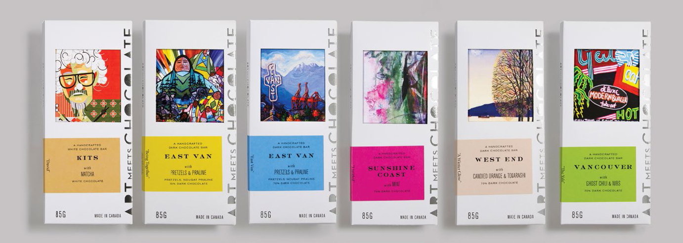 Packaging for Art Meets Chocolate