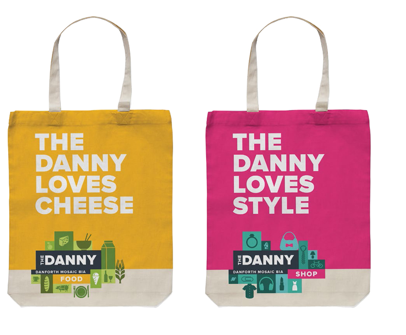 The Danny BIA naming and brand identity